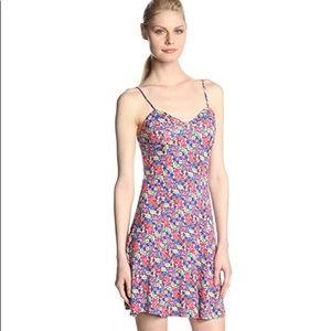 Jessica Simpson Raven Tank Dress Hibiscus Floral